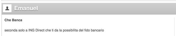 Opinioni Che banca!